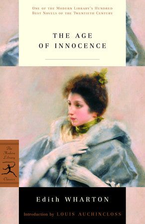 The Age Of Innocence By Edith Wharton 9780307949516
