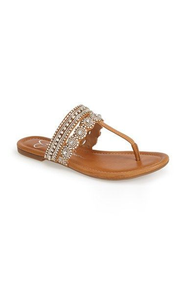 b9ece1d6f5ca Jessica Simpson  Roelle  Embellished Sandal (Women) available at  Nordstrom