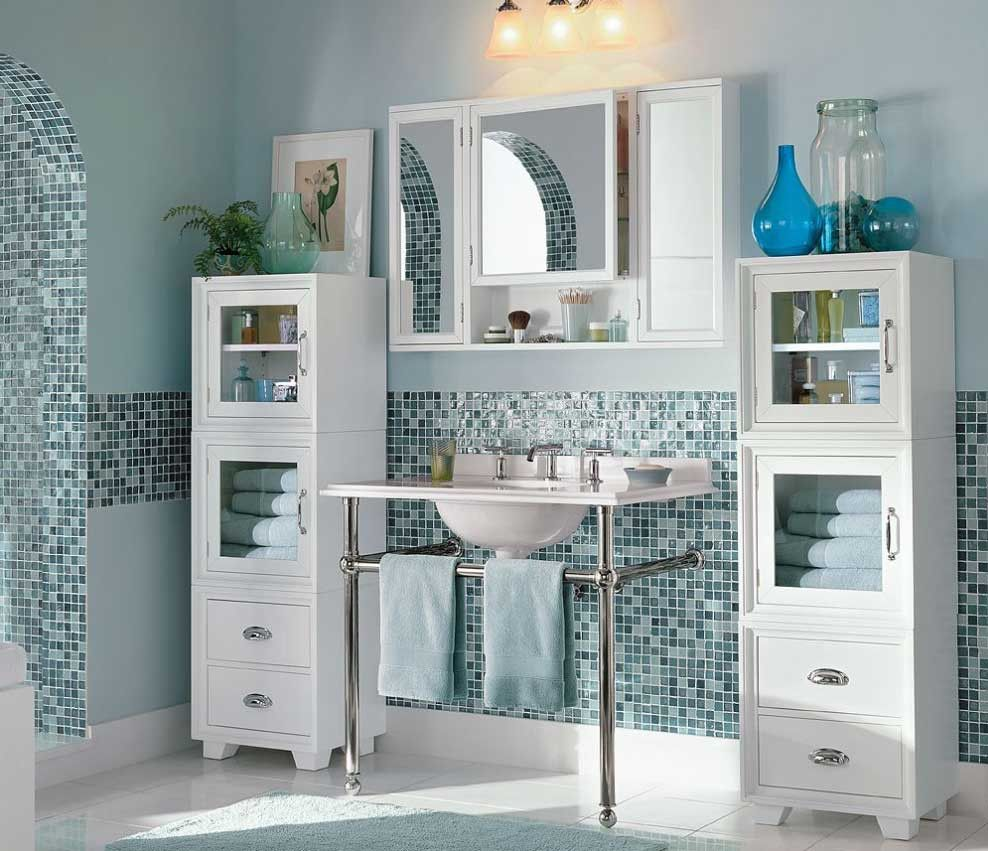 2018 Pottery Barn Bathroom Storage Cabinets - Lowes Paint Colors ...