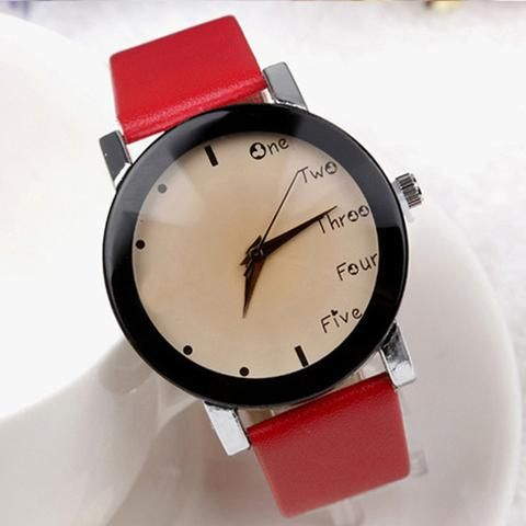 Summer Fabric Strap Watch Simple Style Men Casual Watch Fahion Women Girls Dress Watch Everything Is OK Wristwatch