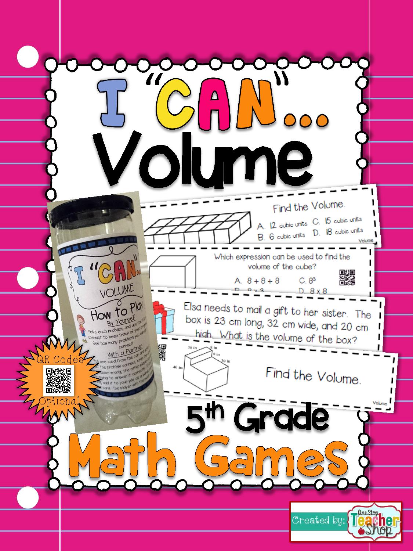 5th Grade Measuring Volume Of Rectangular Prisms