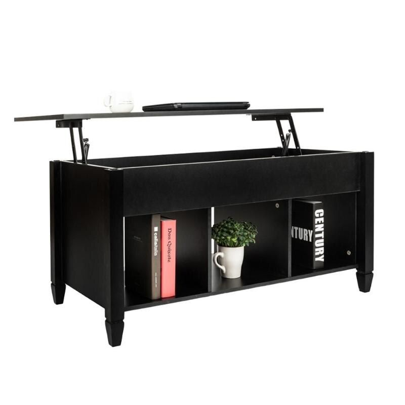 Lift Top Coffee Table Modern Furniture Hidden Compartment And Lift