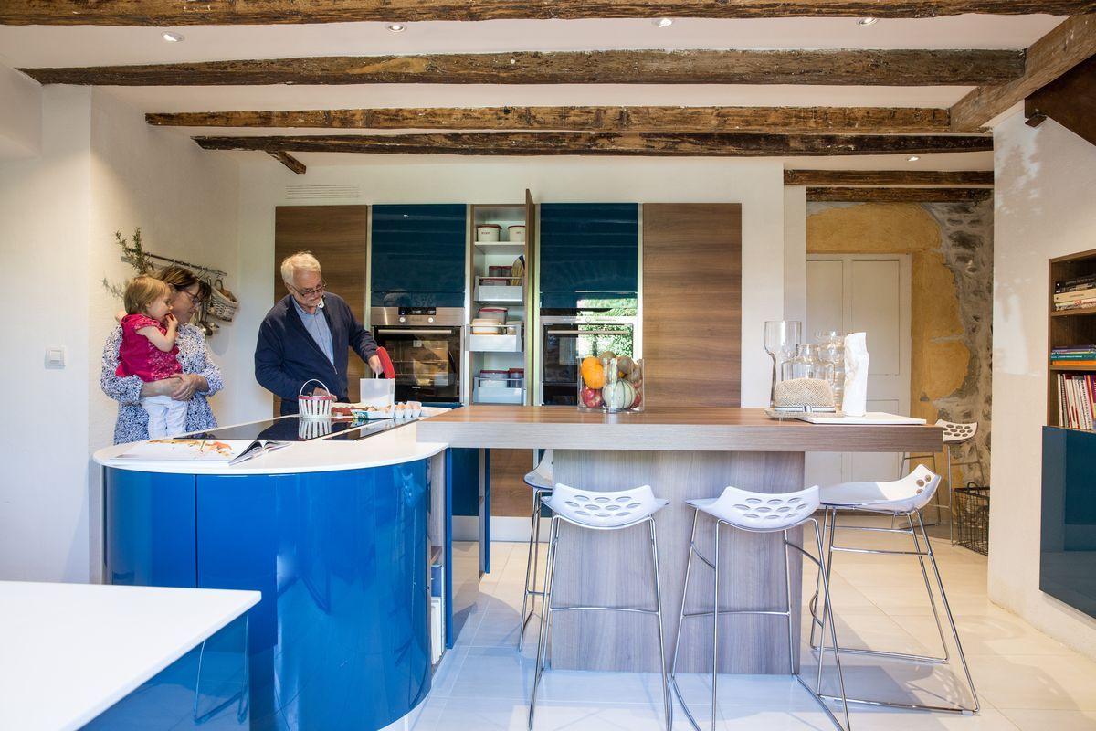 Cuisine moderne dans une maison ancienne | #Cuisine #Amenagement ...