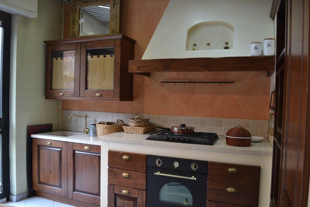 Cucina Copat Cucine Casale Classica Legno Cucine A Prezzi Scontati Cucine Arredamento Muratura