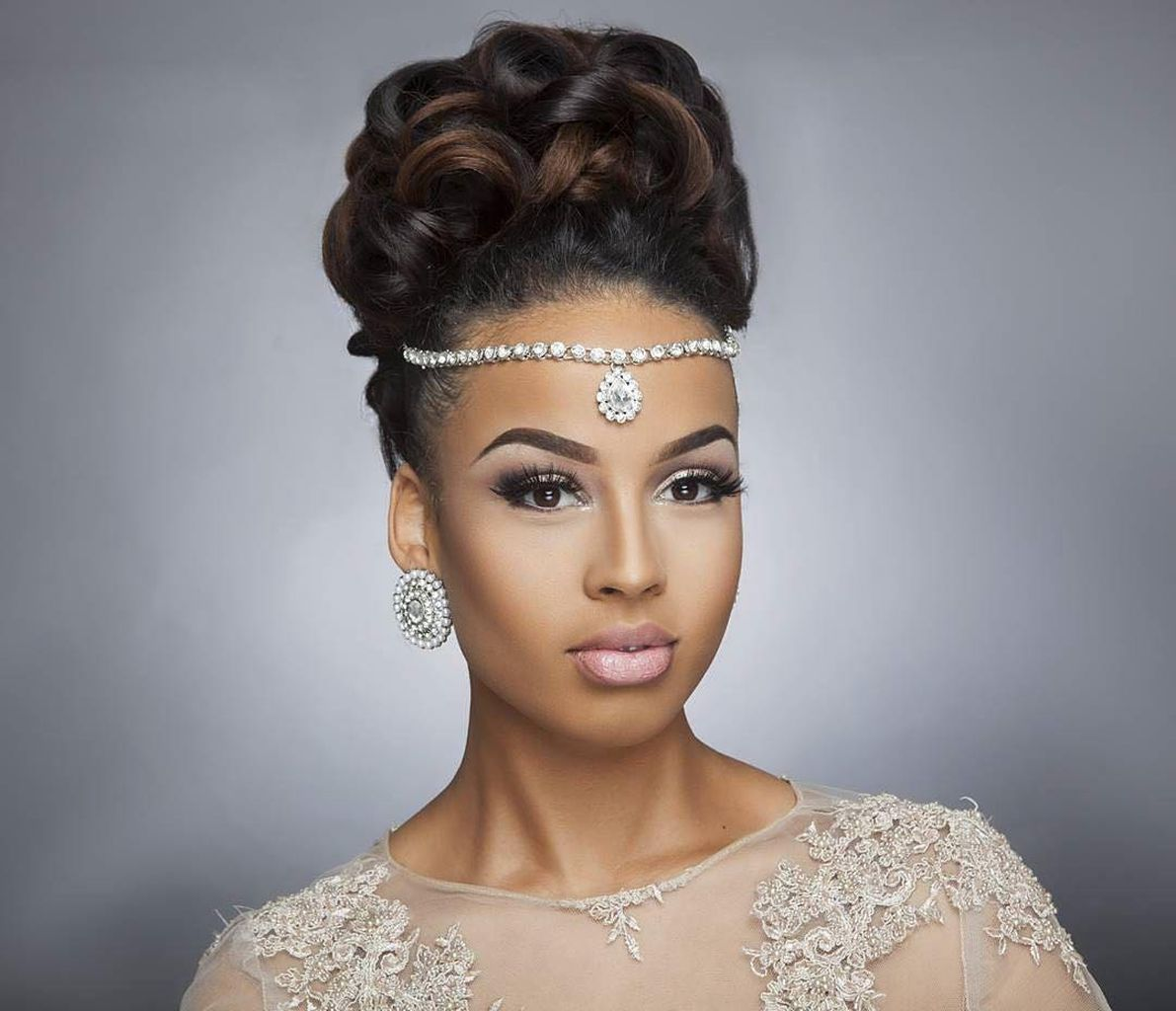 75 Stunning African American Wedding Hairstyle Ideas For Memorable