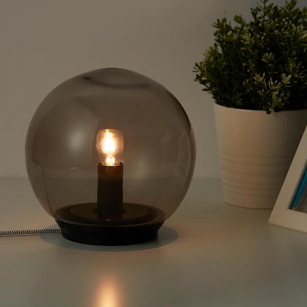 FADO Table lamp with LED bulb, gray, Max.: 7 W en 2020
