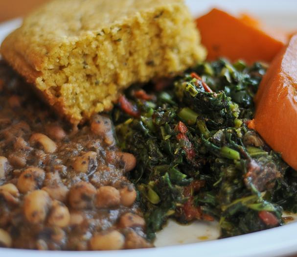 Vegging Out Vegans Occupy Oakland Vegan Soul Food Soul Food Vegan Recipes