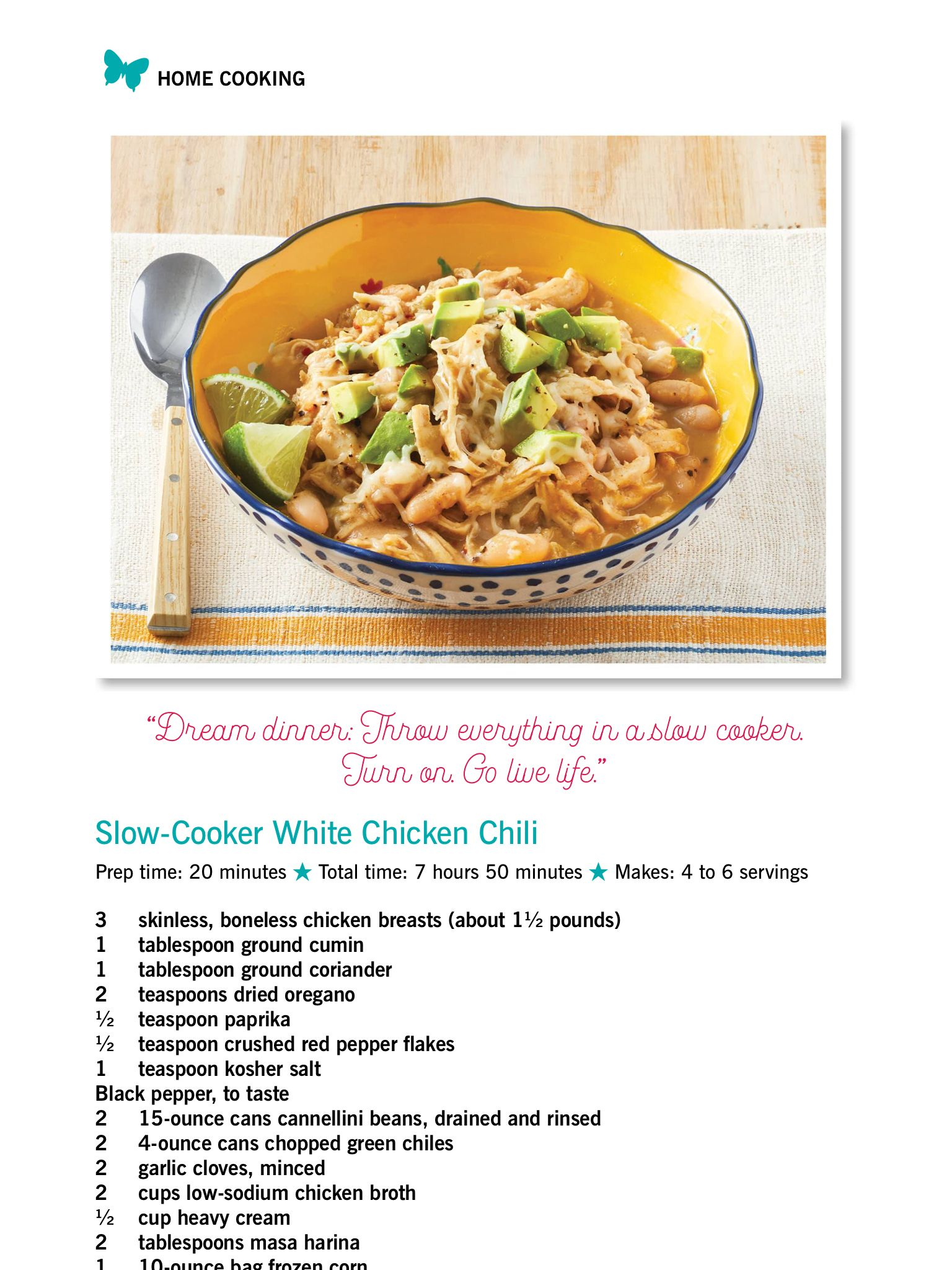 Slow Cooker White Chicken Chili From The Pioneer Woman Holiday 2018 Read It On The T White Chicken Chili Slow Cooker White Chicken Chili White Chili Recipe