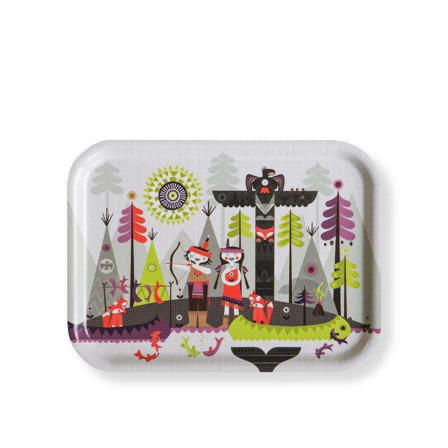 Isak Hiawatha Tray From Illustratedliving Co Uk Hiawatha Kids Tableware Childrens Dishes