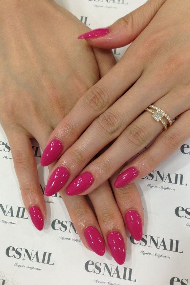 How to Choose the Best Nail Shape for Your Fingers | Almond nails ...
