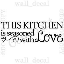 kitchen wall decals - Google Search