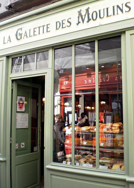 La Galette Moulins, Montmartre, Paris,