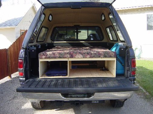 Truck Bed Camping Ideas