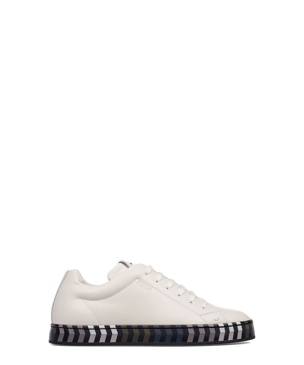 7bf64b8fed FENDI Fendi Men'S White Leather Sneakers'. #fendi #shoes #sneakers ...