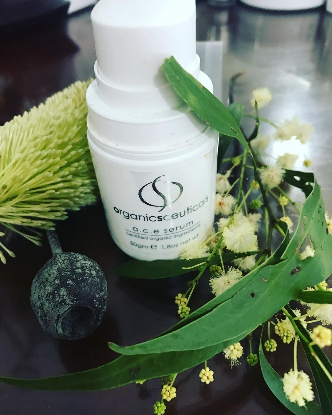 Love this product. Great anti-aging serum for tightening and firming skin. Provide your skin with a few vitals vitamins in one product. #organicspa #certifiedorganic #goodforskin Perfect weather for a facial book in today or tomorrow spaces available.