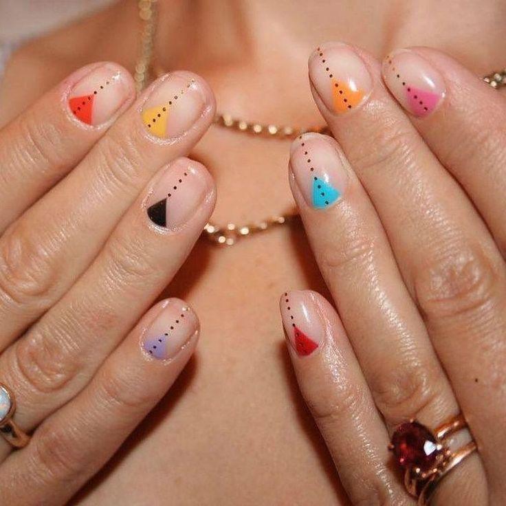 35 Creative DIY Nail Art for Summer this Year nail nails