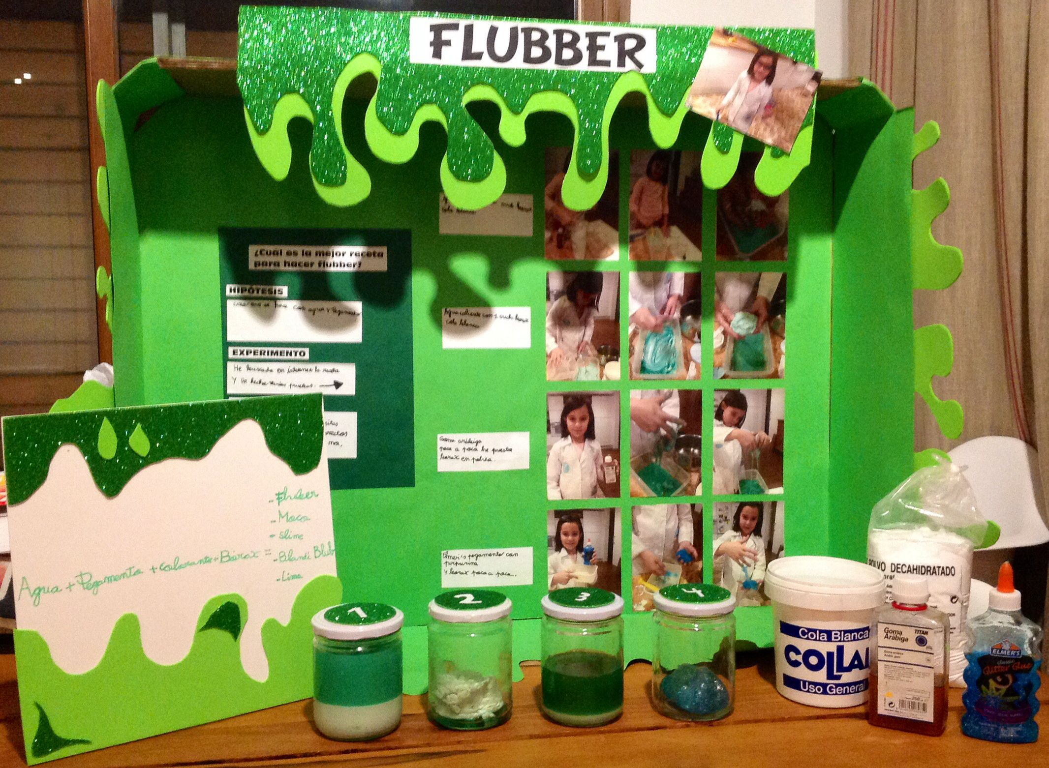 Image Result For Slime Science Printable Report House Pinterest