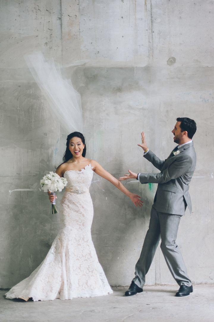 Wedding photos at the Sonesta Bayfront Hotel in Coconut Grove, Miami. Captured by Miami wedding photographer Ben Lau.
