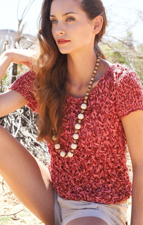 LANA GROSSA: Filati 45 Modell 15: Short-Pulli (Bicolore) Pullover #newclothes #topmode #Pullover #anoukblokker #newstyle #womenwinter    www.2dayslook.com