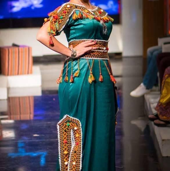 Les plus belles robes kabyles 2018