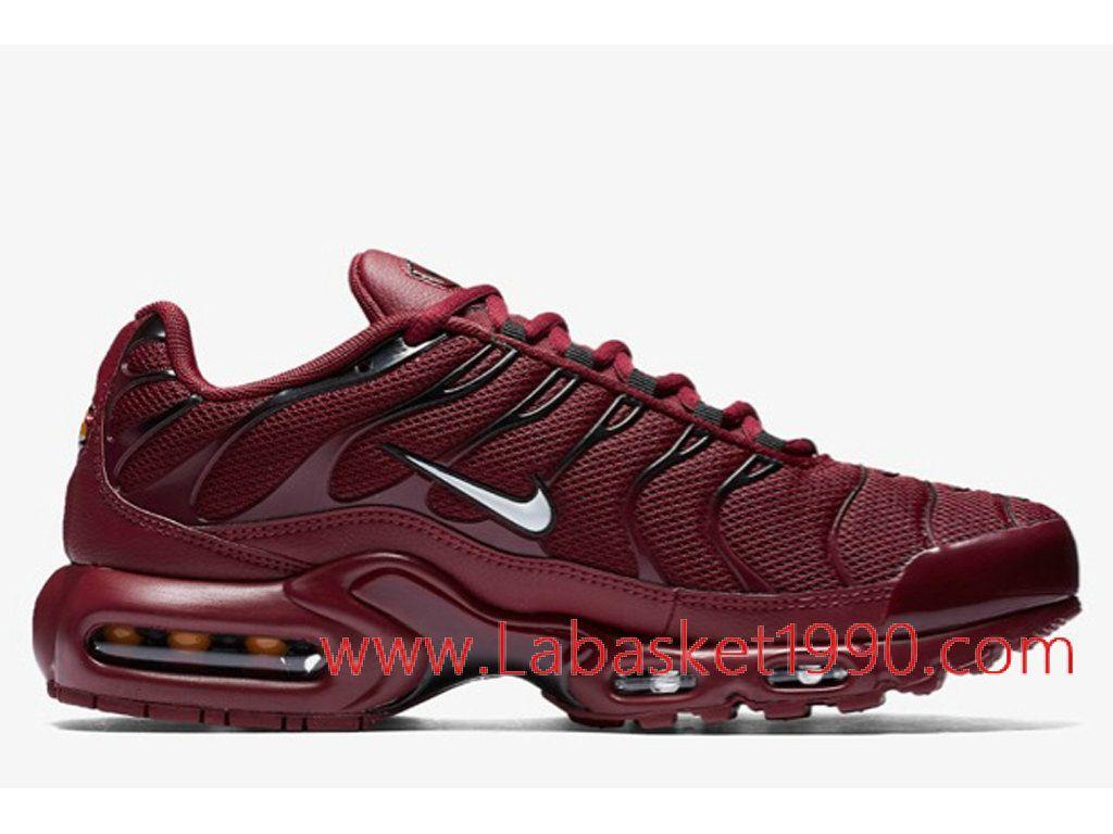 timeless design 6f142 dfa16 Nike Air Max Plus 852630-602 Chaussures Nike Prix Pas cher pour homme rouge