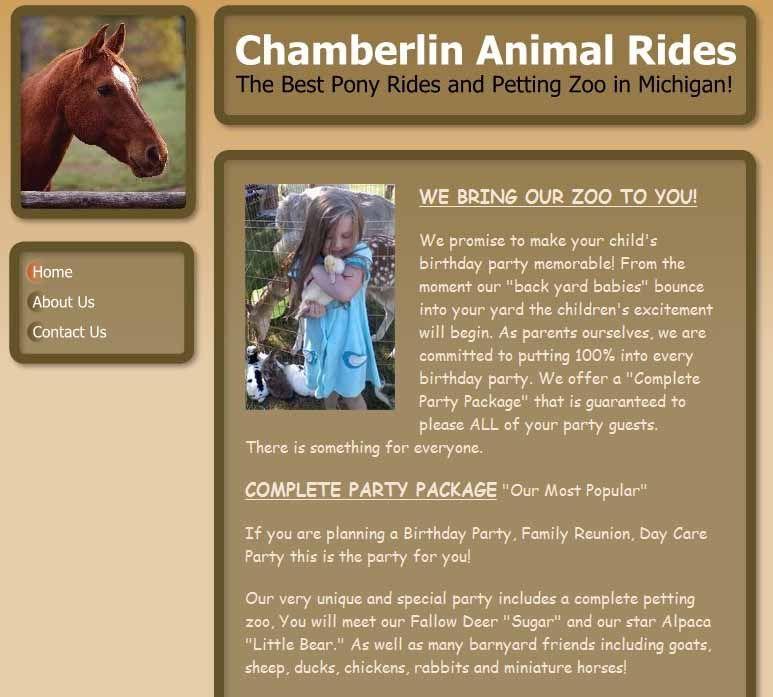 Chamberlinanimalrides01jpg zoo animals pony rides