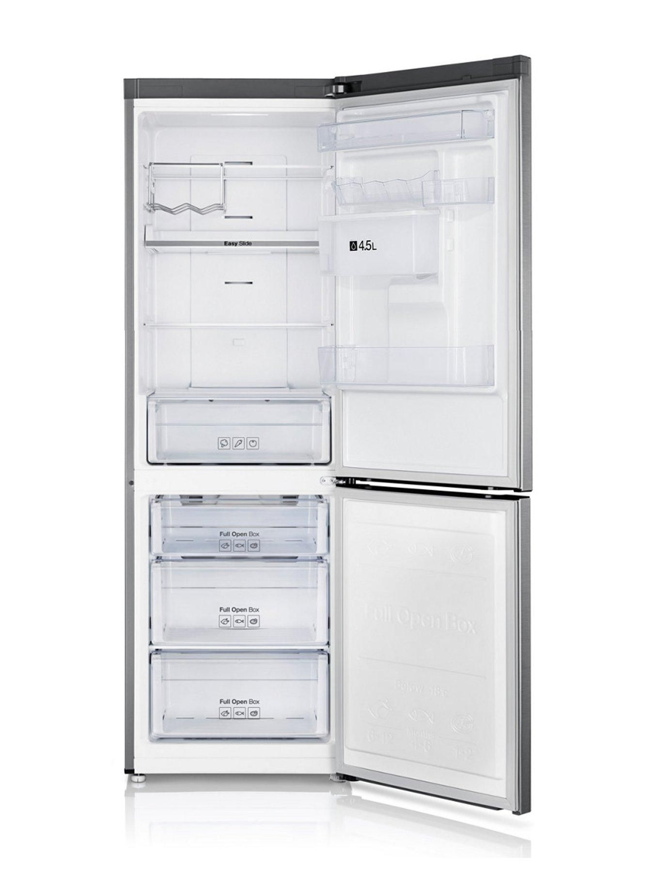 Samsung Rb31fdrndsa Eu 60cm Wide Frost Free Fridge Freezer With Digital Inverter Technology And 5 Year Samsung Parts And Labour New House In 2019 Samsung Fridge Freezer Samsung Fridge Fridge Shelves