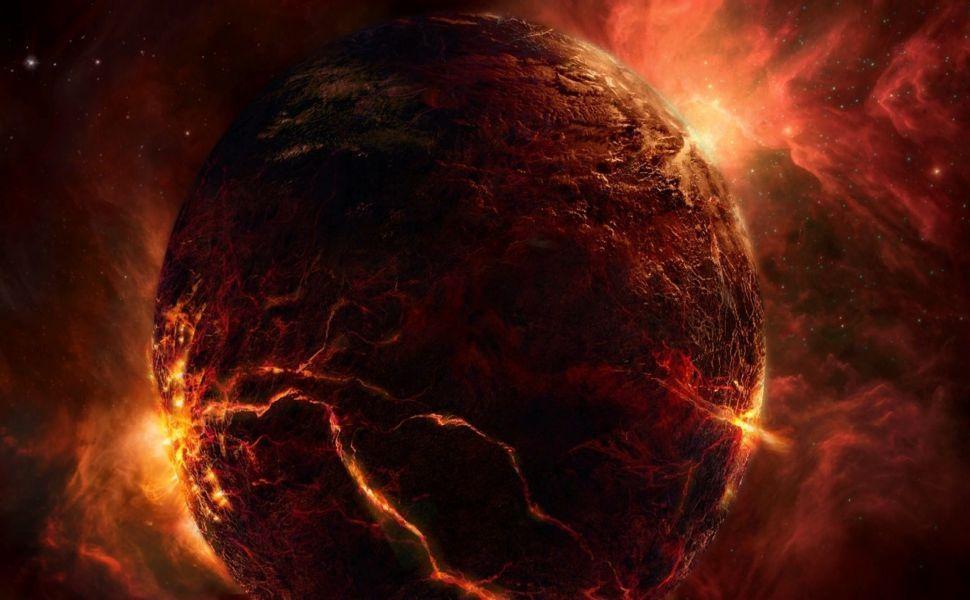 Planeta Rojo HD Wallpaper