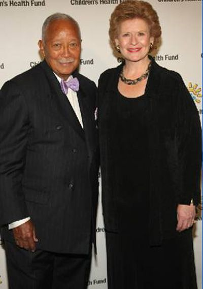 former new york city mayor david dinkins and us senator debbie stabenow attend the 2011 children s health fund annua childrens health debbie stabenow childrens senator debbie stabenow attend