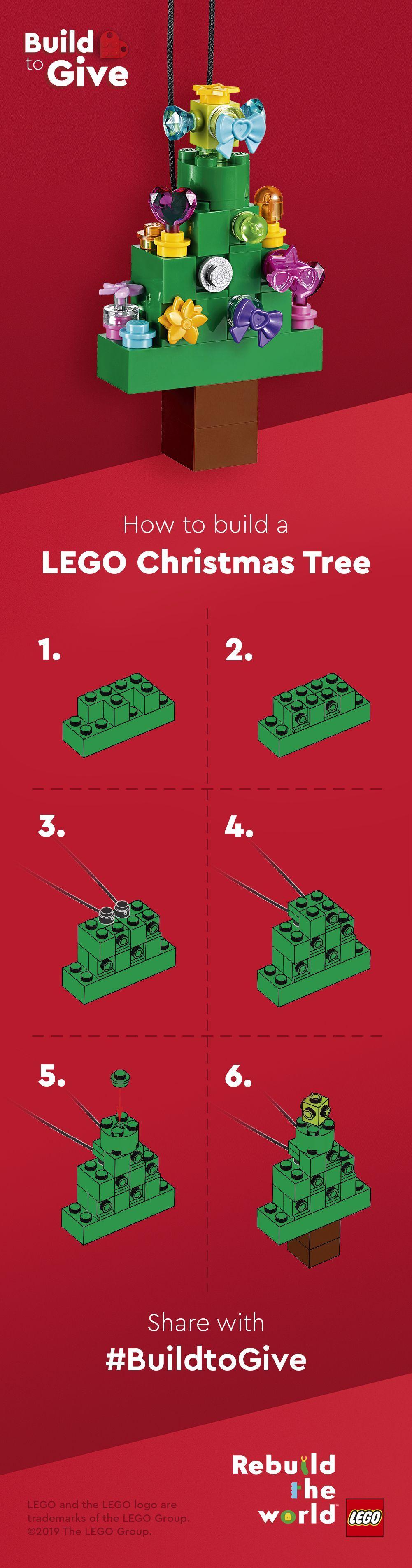 #build #Christmas #Decoration #Lego #Tree Build your own LEGO Christmas tree dec…