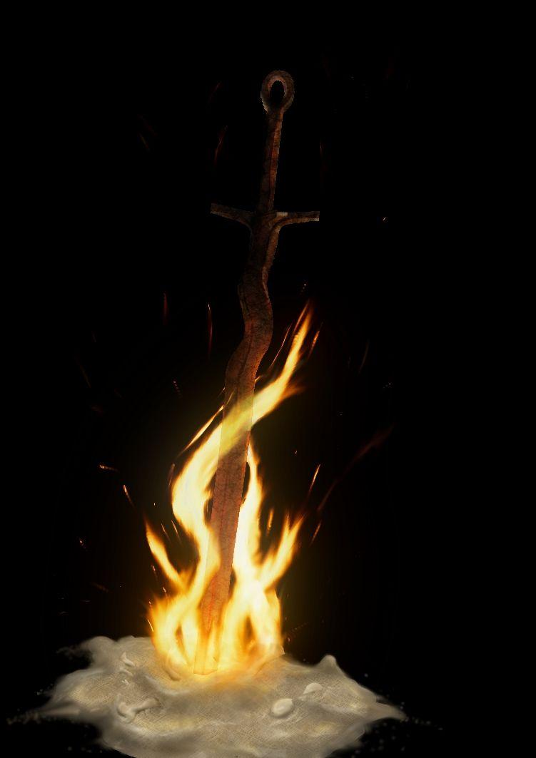 Dark Souls Bonfire By Ma5h Deviantart Com On Deviantart Dark