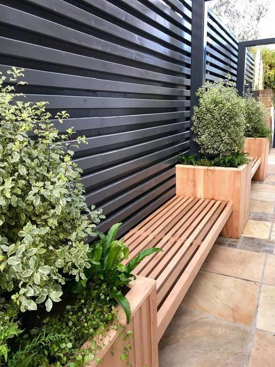 35 Intelligente Und Stilvolle Garten Screening Idee Gartenscreeningidee Intelligente In 2020 Small Backyard Landscaping Modern Garden Design Backyard Landscaping