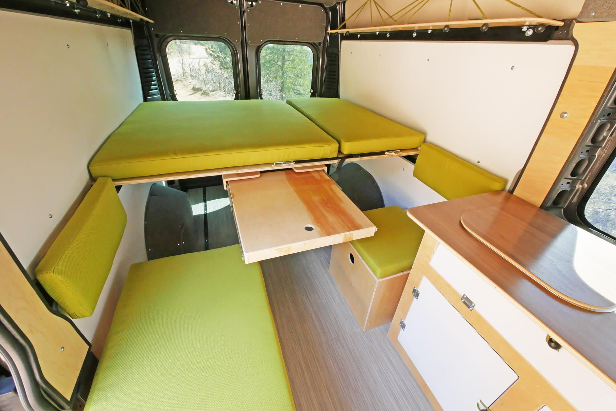 Walt Camper Van Conversion Kit For Ram Promaster 1500 Or 2500 159 Van Conversion Kits Van Conversion Camper Van Conversion