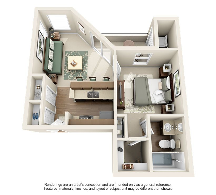 1 & 2 Bedroom Apartments For Rent In Austin