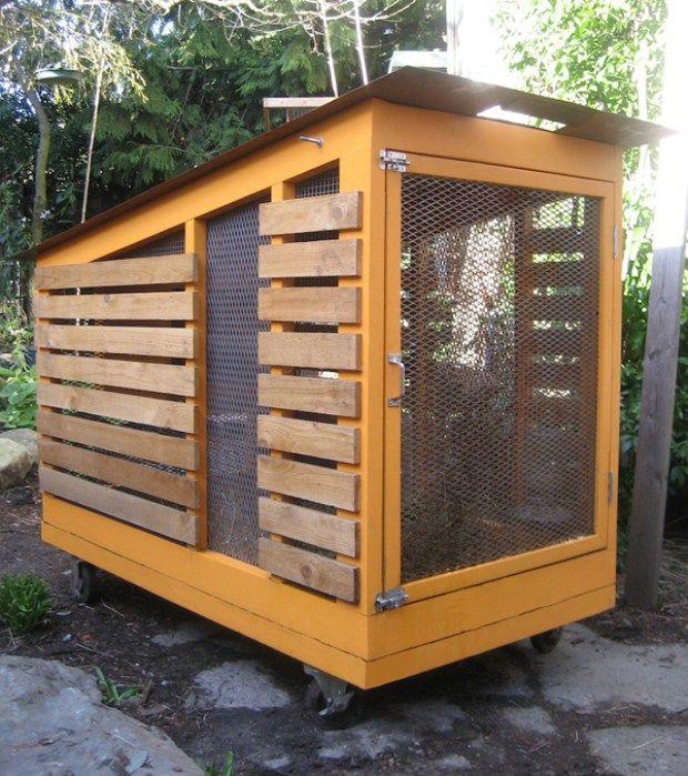 5 Charming Small Chicken Coops | Urban chicken coop, Urban ...