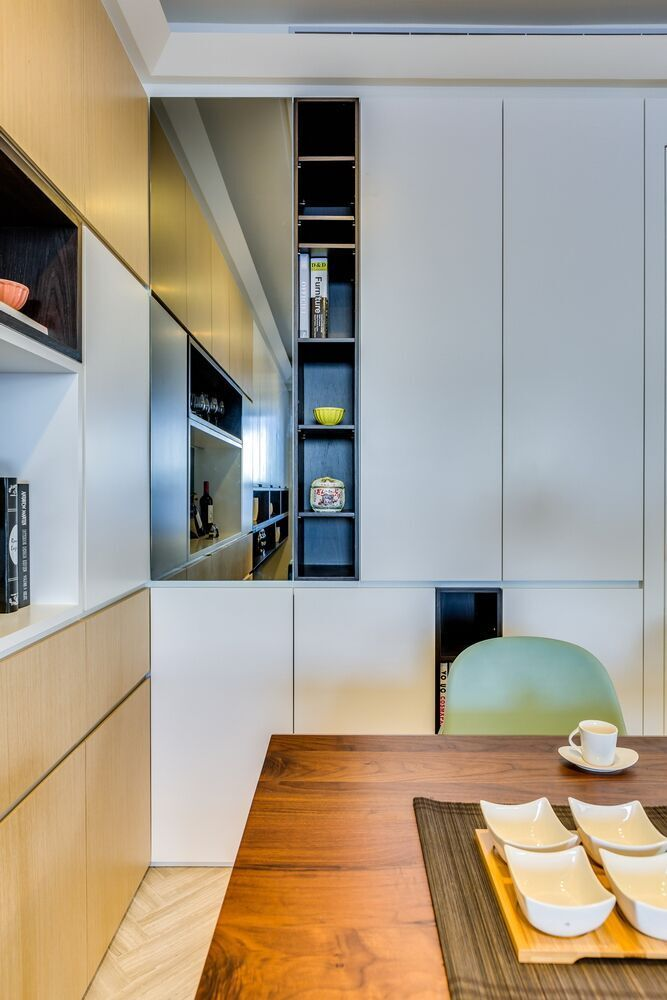 creative built in storage maximizes small apartment studio apartment decorating small studio on kitchen organization small apartment id=20793