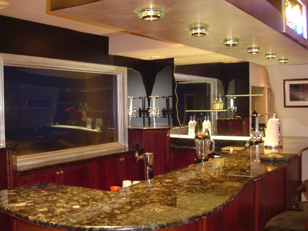Uncategorized Bar Basement basement corner bar plans with red painted wall and table