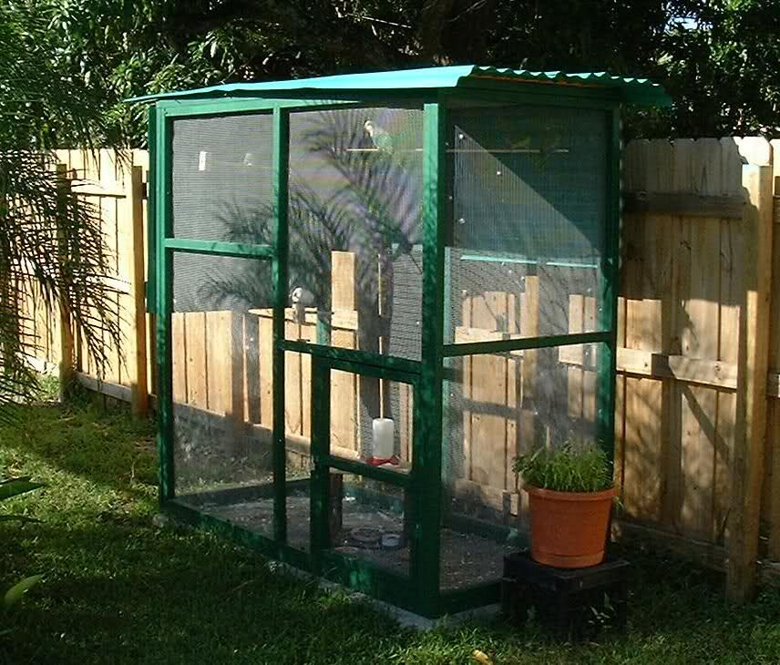 outdoor aviary bird cages multiple birds for housing. Black Bedroom Furniture Sets. Home Design Ideas