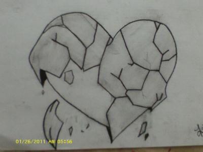 4c20989548233aa285acd67aeeb7bbe7 » Broken Sad Drawings Easy