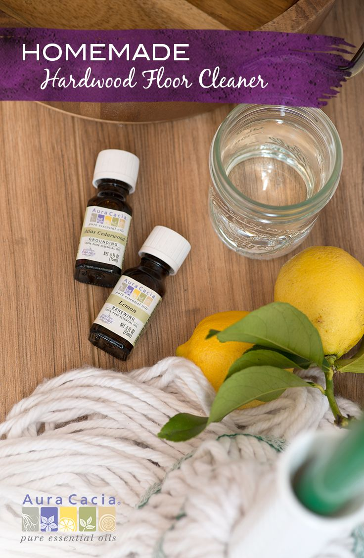 Hardwood Floor Cleaner With Lemon Essential Oil Recipe