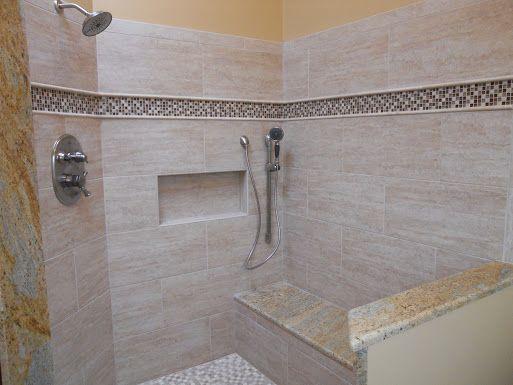 12x24 shower tile Google Search master bath Pinterest Bath