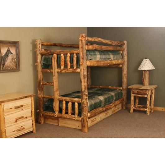 Mountain Bunk Bed Rustic Bunk Beds Bunk Beds Furniture