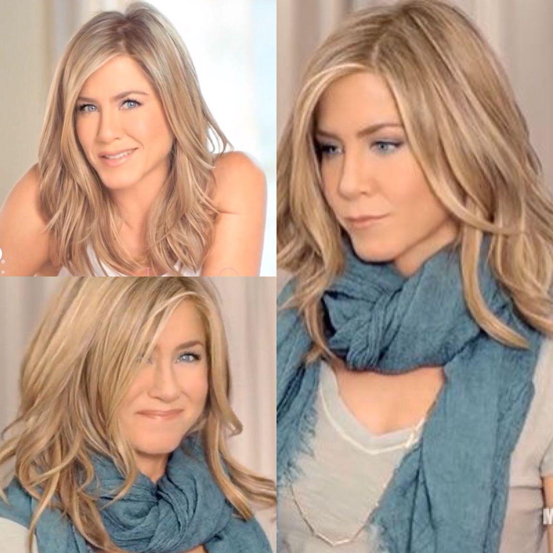 Pin By Jennifer Seefeldt On Lighting: Jennifer Anniston Hair Style Aveeno Commerical. Blonde