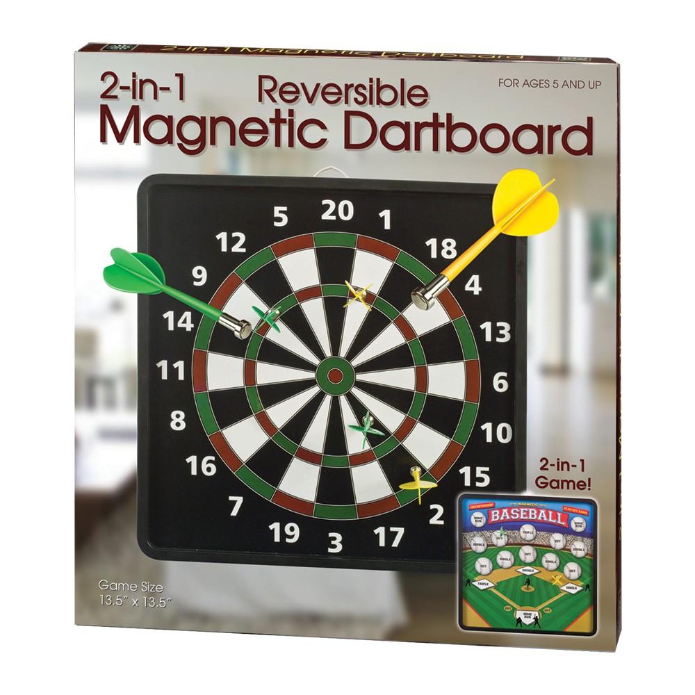 Westminster Inc 2 In 1 Reversible Magnetic Dartboard Dart Board