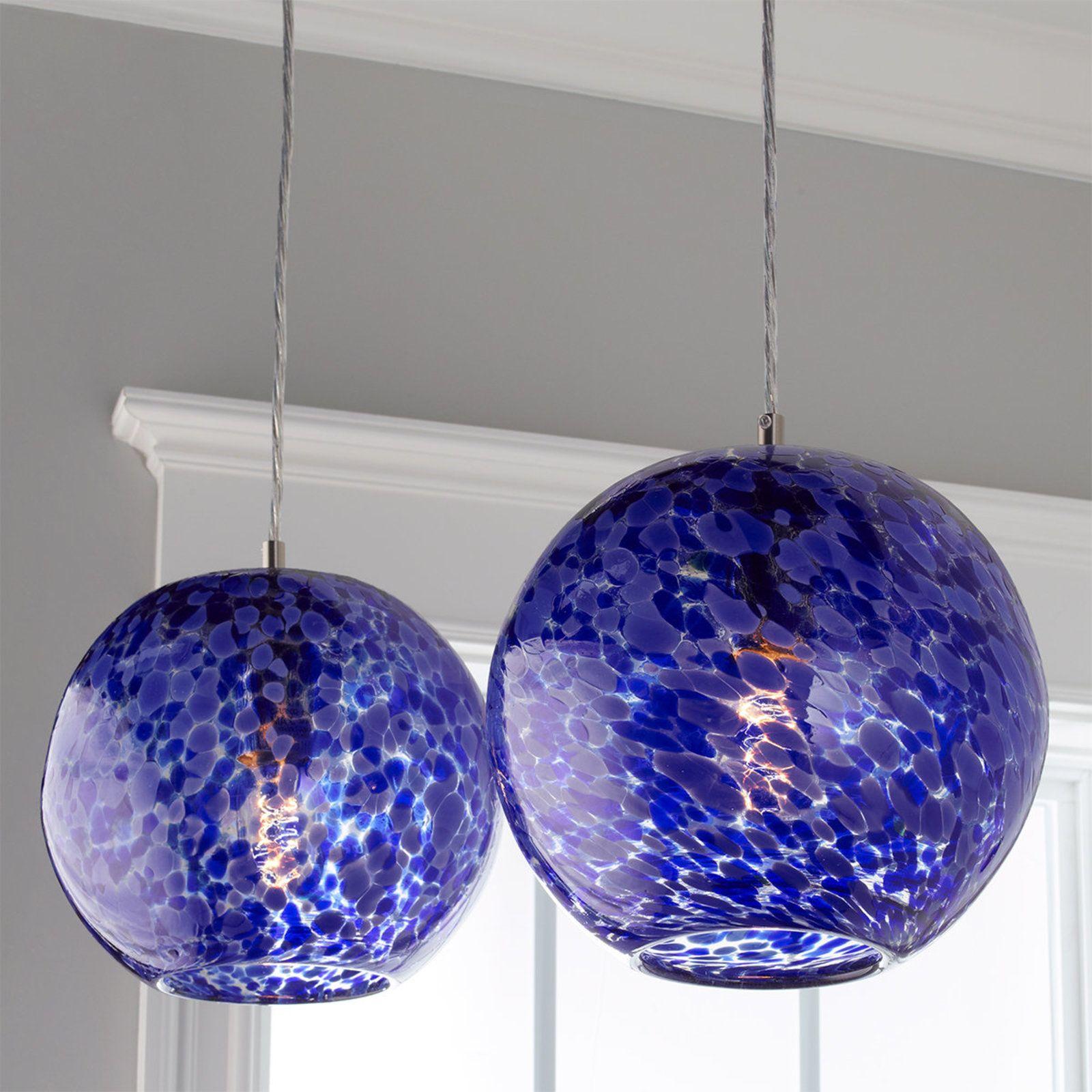 Contemporary Modern 1 Light 7 3 Pendant Fixture With Murano Cobalt Glass Blue Pendant Light Blown Glass Pendant Light Tech Lighting