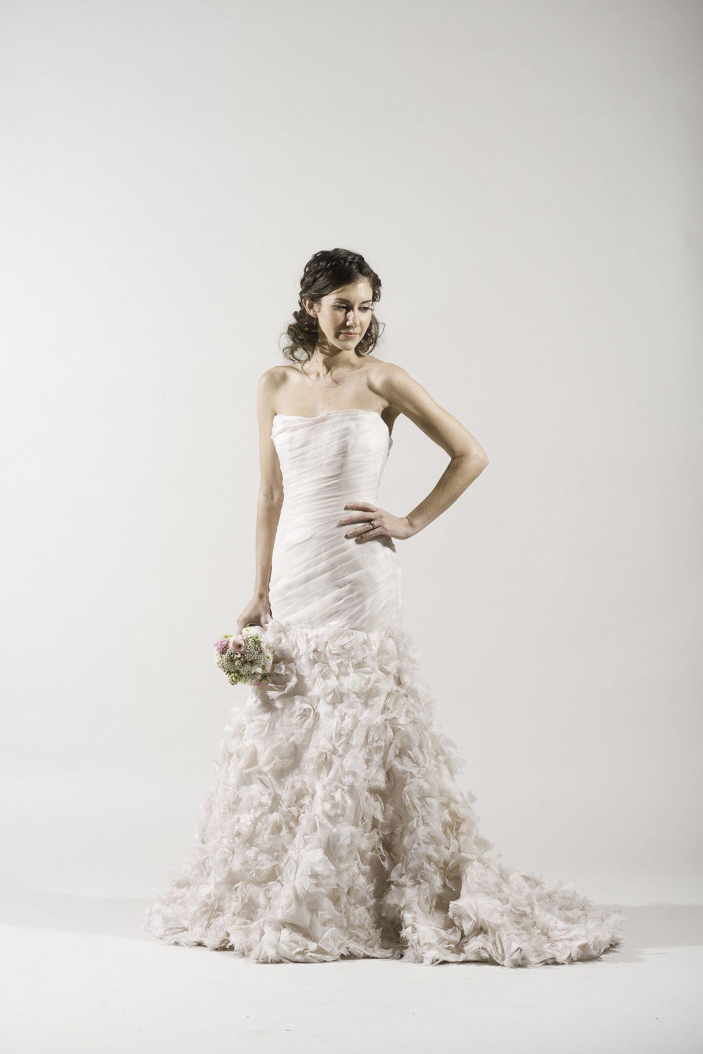 Romona Keveza RK282 Blush Mermaid Gown   Mermaid gown, Bridal ...