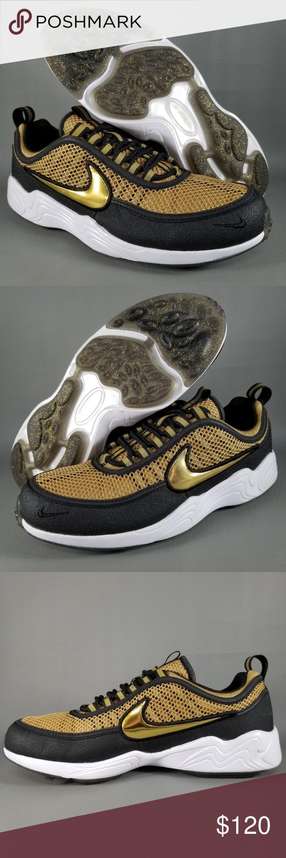 official photos b835c cff8d Nike Air Zoom Spiridon Golden Shine Mens Shoes 8.5 Nike Air Zoom Spiridon
