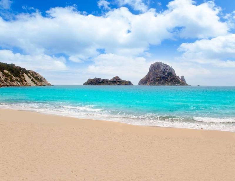 Cala d'Hort and Es Vedra, Ibiza