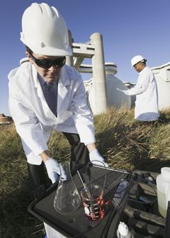 Job description for environmental engineering technicians | STEM ...