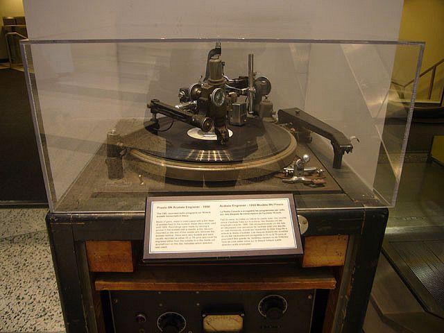 Presto Record Lathe Recording Equipment High End Turntables Hifi